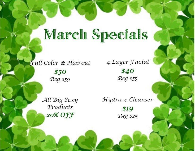 March 2017 specials caprinow